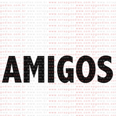 197 - Amigos  - SCRAP GOODIES