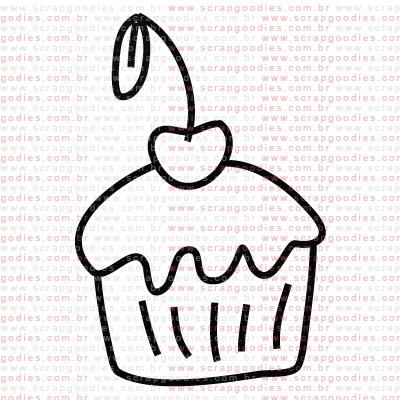 199 - Cupcake!  - SCRAP GOODIES