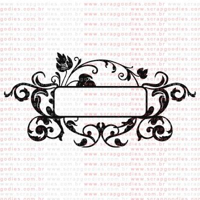 213 - Moldura com doodles  - SCRAP GOODIES