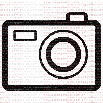 221 - Máquina fotográfica  - SCRAP GOODIES