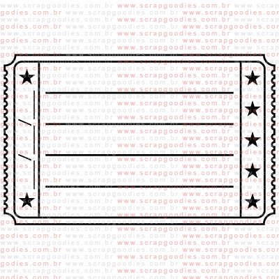 268 - Journaling ticket com data  - SCRAP GOODIES