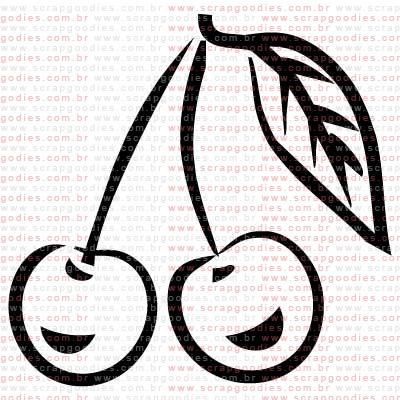 269 - Cereja  - SCRAP GOODIES