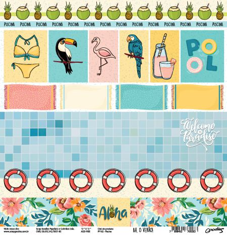 PP165 - Piscina  - SCRAP GOODIES