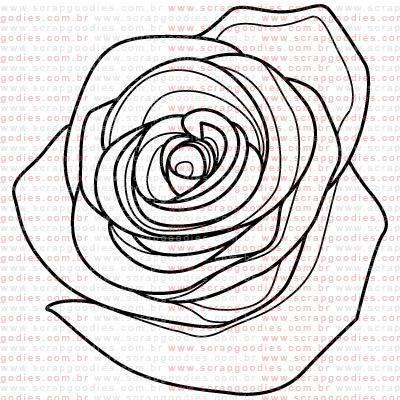 286 - Rosa  - SCRAP GOODIES