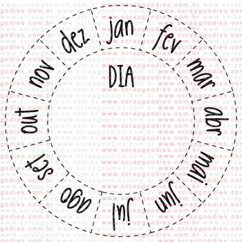 308 - Datador circular  - SCRAP GOODIES