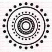 023 - Mandala só de pontinhos