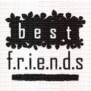168 - Best Friends com folhas