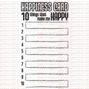 263 - Happiness Card