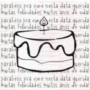 258 - Bolo de Feliz Aniversário