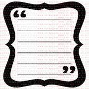 281 - Journaling com aspas