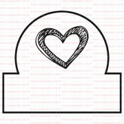 406 - Tab mini coraçãozinho