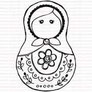 463 - Matrioshka Flor
