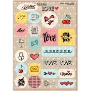 adesivo Linha LOVE