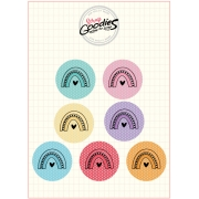 Buttons COR E CORES -  modelo 2 - 7 UNIDADES