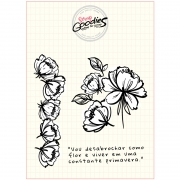 Clear Stamp - Flores