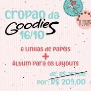 CROPÃO DA GOODIES - 16/10 - 6 LINHAS DE PAPÉIS GOODIES + ÁLBUM NA CAIXA