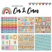 KiT 6 Papéis - linha COR E CORES