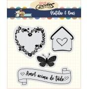 LANÇAMENTO!!! Clear Stamp Gratidão - Amor acima de tudo