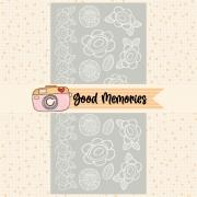 LINHA GOOD MEMORIES - TRANSPARÊNCIA FLORES