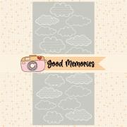 LINHA GOOD MEMORIES - TRANSPARÊNCIA NUVEM