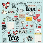 PP 230 - papel LOVE IS IN THE AIR