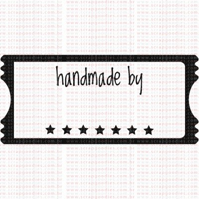 319 - Hand Made Tag  - SCRAP GOODIES