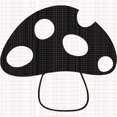 333 - Cogumelo  - SCRAP GOODIES