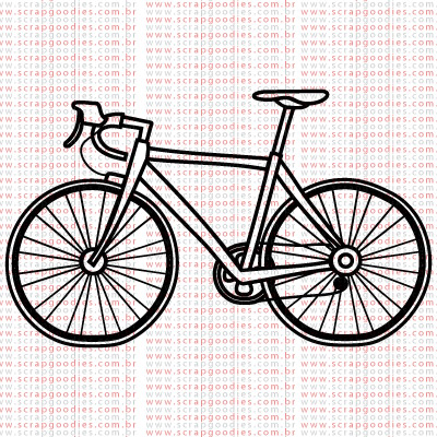 376 - Bicicleta  - SCRAP GOODIES