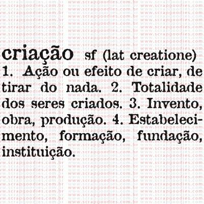 379 - Criação - definição  - SCRAP GOODIES