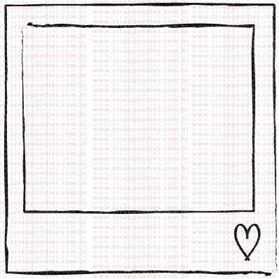 414 - Moldurinha polaroid pequena  - SCRAP GOODIES
