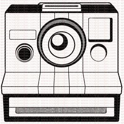 454 - Maq Polaroid Frontal  - SCRAP GOODIES