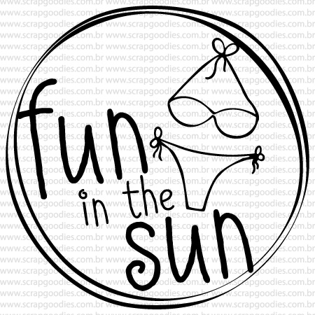 484 - Fun in the Sun  - SCRAP GOODIES