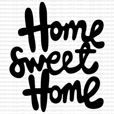 488 - Home Sweet Home  - SCRAP GOODIES