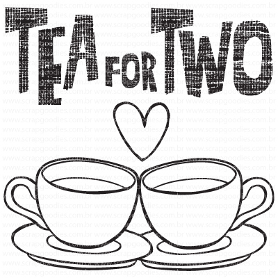 502 - Tea for Two  - SCRAP GOODIES