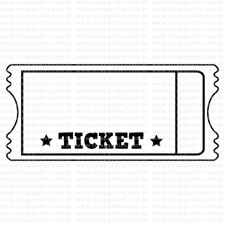 518 - Ticket só ticket  - SCRAP GOODIES