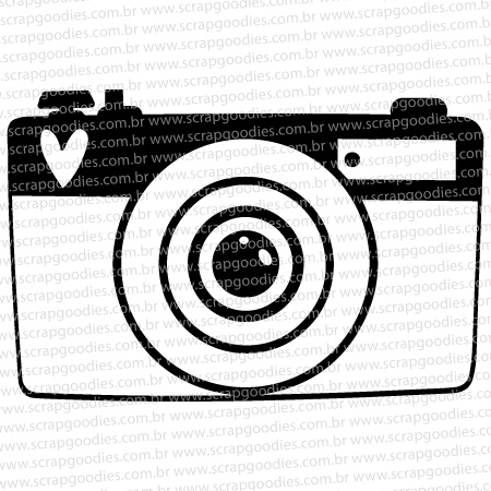 559 -Máquina fotográfica 2  - SCRAP GOODIES