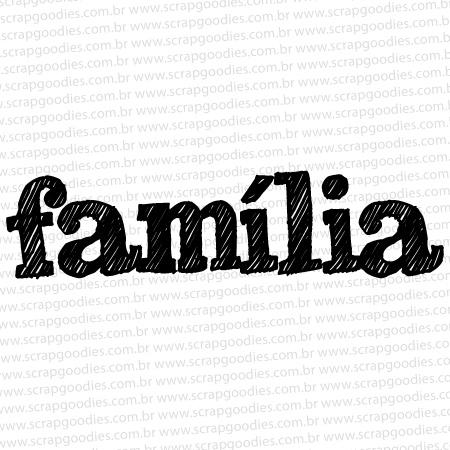 568 - Família Riscada  - SCRAP GOODIES