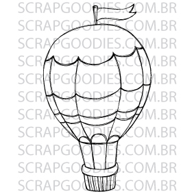 580 - Balão grande  - SCRAP GOODIES
