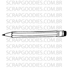590 - Lápis  - SCRAP GOODIES