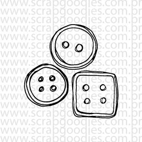 636 - Botõezinhos trio  - SCRAP GOODIES