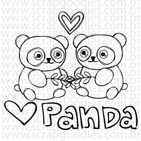 667 - Love Panda!  - SCRAP GOODIES