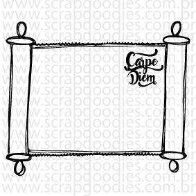 674 - Quadro CarpeDiem  - SCRAP GOODIES