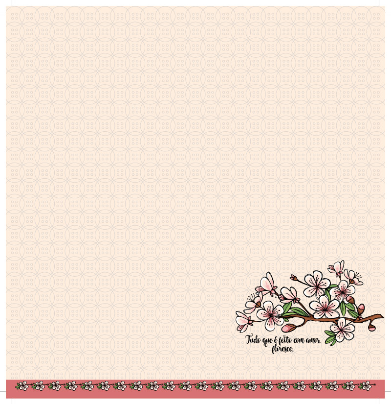 PP096 - Sakura - linha LOVE JAPAN  - SCRAP GOODIES