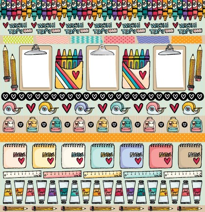 PP105 - Colours  - SCRAP GOODIES
