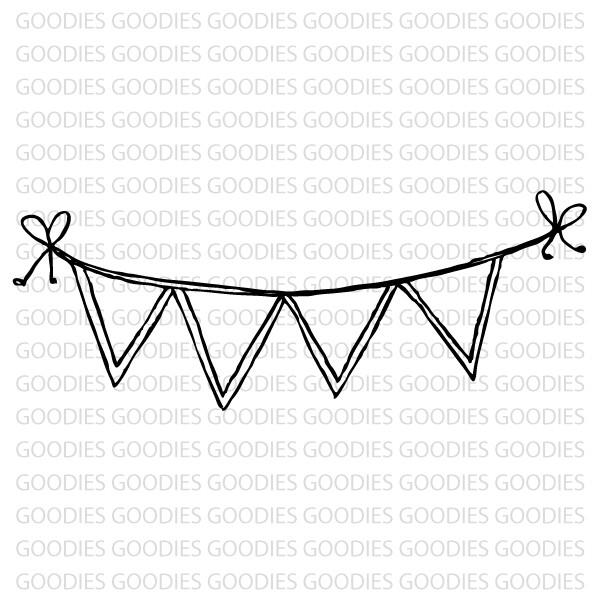 723 - Bandeirinhas com lacinhos  - SCRAP GOODIES