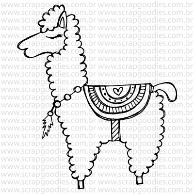 756 - Lhama  - SCRAP GOODIES