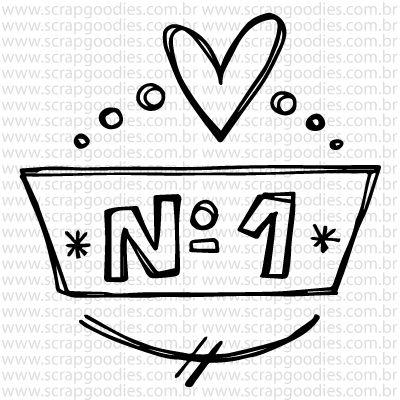 764 - Selo Nº 1  - SCRAP GOODIES
