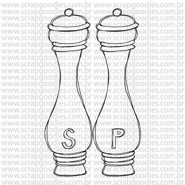 792 - Salt & Pepper  - SCRAP GOODIES