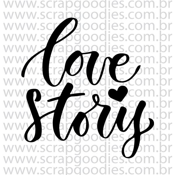 837 - Love Story  - SCRAP GOODIES