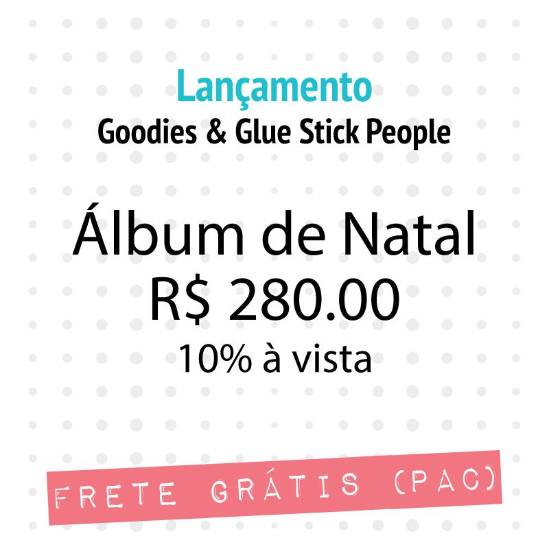 KIT ÁLBUM DE NATAL 2018  - SCRAP GOODIES